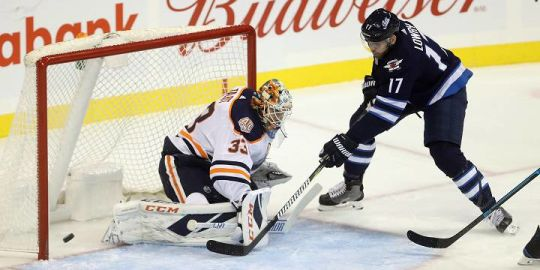Winnipeg Jets waste 3-goal lead in overtime loss to Edmonton Oilers