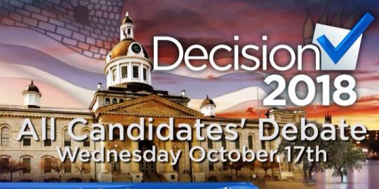 WATCH LIVE: Kingston mayoral all candidates debate