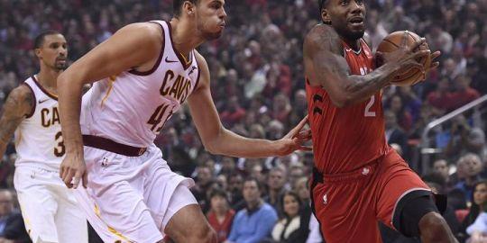 Toronto Raptors beat Cleveland Cavaliers 116-104 to win home-opener