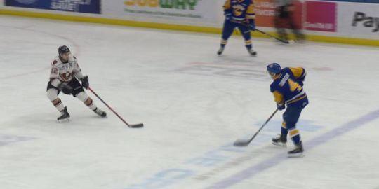 Josh Prokop scores OT winner as Calgary Hitmen edge the Saskatoon Blades