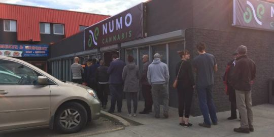 Edmonton cannabis stores start to run low on legal weed