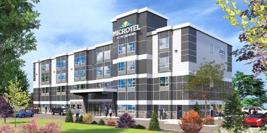 Highway widening spurs hotel boom in Kelowna