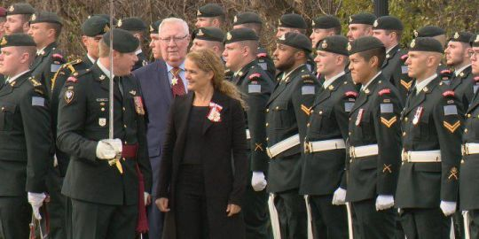 Governor General meets with premier and lieutenant governor on Sask. trip
