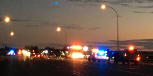 Magrath residents show support for families after serious crash on Highway 5