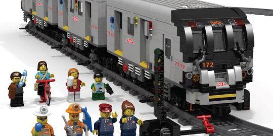 TTC employee hopes subway kit becomes LEGO reality