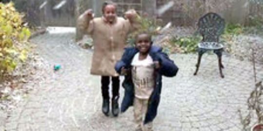 Eritrean Refugees See First Snow In Canada – And It Will Melt Your Heart