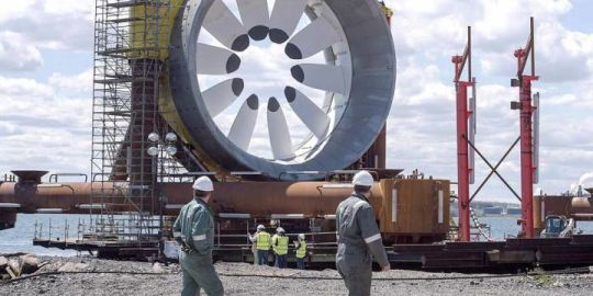 Cape Sharp Tidal turbine was 'damaged beyond repair' in September