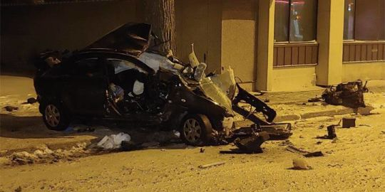 One person has died in hospital after serious crash in early November