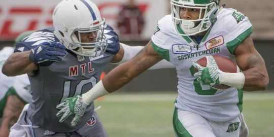 Riders sign running back Marcus Thigpen to contract extension