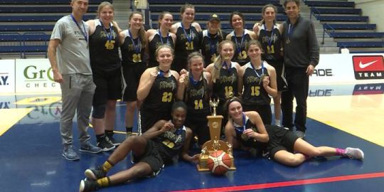 Strong second half lifts La Salle senior girls to a basketball championship