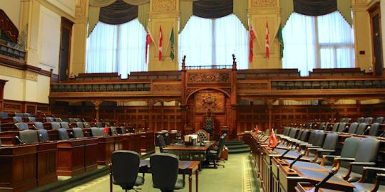 Ontario government to raise seat count needed for official party status
