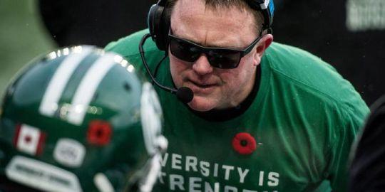 Roughriders coach Chris Jones evasive on team's quarterback future
