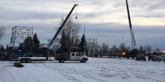 Iconic oil derrick at south entrance to Edmonton to be taken down, relocated