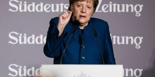 Germany's Merkel joins France's Macron in call for European Union army