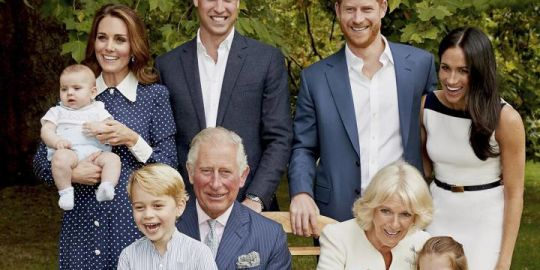 Prince Charles' 70th birthday celebrated with release of Royal Family photo