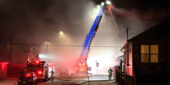 West End fire destroys former convenience store
