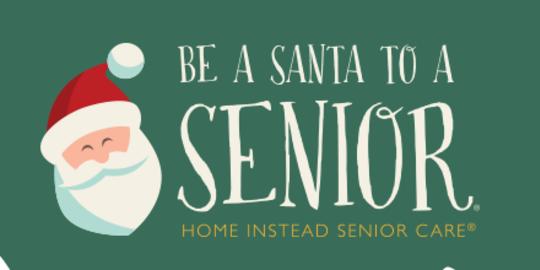 Be a Santa to a Senior program is underway