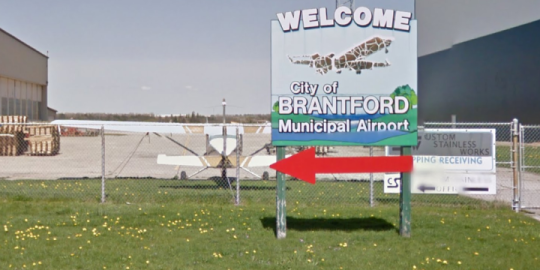 Plane crashed at Brantford airport after 1 a.m., TSB says