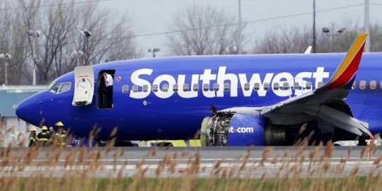 Passengers recall harrowing and fatal Southwest flight where engine blew at hearing