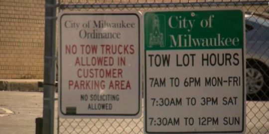 4-year-old girl spends 8 hours inside minivan impounded by Milwaukee police