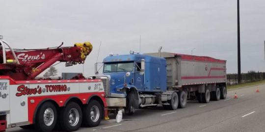 Brampton man charged after transport truck collides with several vehicles on Hwy. 400