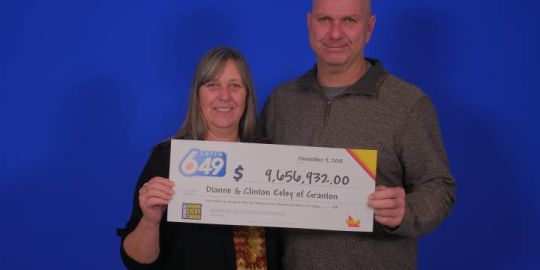 Granton, Ont., couple wins $9.6M lottery jackpot
