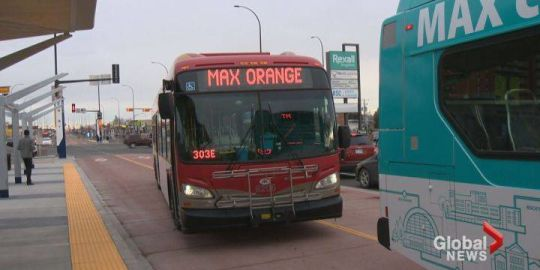 Calgary's new MAX rapid transit bus lanes cause traffic confusion for some
