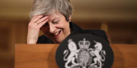 Theresa May appeals to public on Brexit deal as opposition threatens to oust her