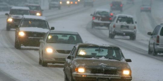 Scott Thompson: What is it about he first snowfall of the season?