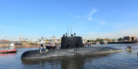 Argentine submarine found after it went missing with 44 aboard one year ago: navy