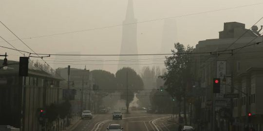 San Francisco residents are breathing the world's worst air: city ranking