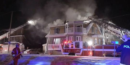 Beauport man dies after Friday night residential building fire in Quebec City