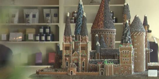 In photos: Edmonton's Duchess Bakeshop creates an edible Hogwarts castle for Bissell Centre fundraiser