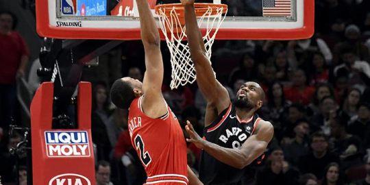 VanVleet, Green, Ibaka lead Toronto Raptors to 122-83 rout of Chicago Bulls