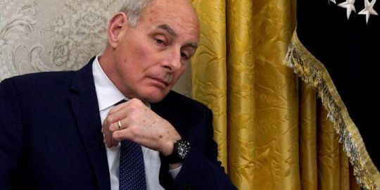 Donald Trump won't commit to keeping John Kelly as chief of staff
