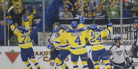 Saskatoon Blades continue 4-game winning streak with victory over Tri-City Americans