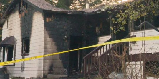 Surrey house fire being investigated as possible arson