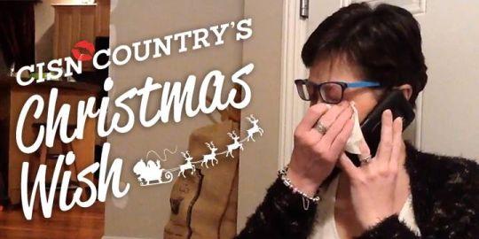 CISN Country's Christmas Wish surprises Jade