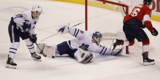 Toronto Maple Leafs trumped by Florida Panthers as Barkov scores hat trick in OT