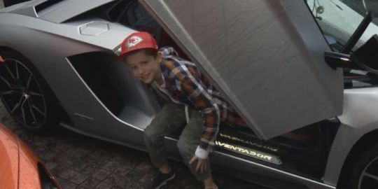 'Driving it forward': Supercar owners give back with rides for sick kids