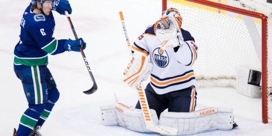 Edmonton Oilers can't push past Canucks