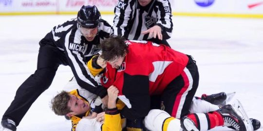 Chabot scores overtime winner, Turris and Ryan fight as Sens defeat Preds