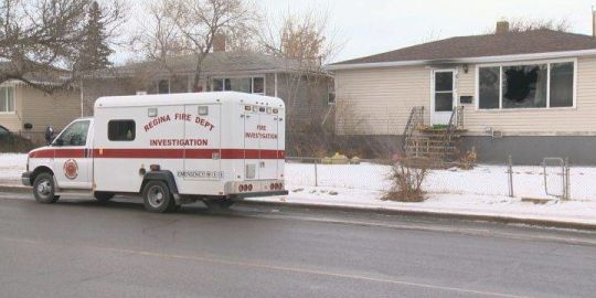 Three people taken to hospital after fire in Regina