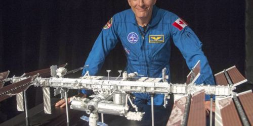 4 types of smoked salmon, chocolate fondu headed into space with Canadain David Saint-Jacques