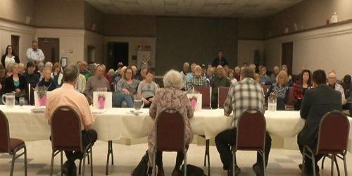 Buckhorn residents listen as candidates for Peterborough-Kawartha riding debate