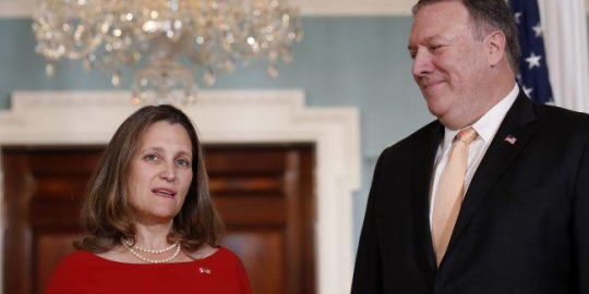 NAFTA deal not reached, Freeland says talks will persist for 'as long as it takes'