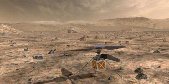 NASA will send an autonomous helicopter to Mars in 2020