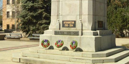 Plaque in Saskatoon commemorates soldiers' efforts during Afghanistan war