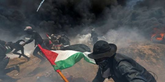 Trump and team praise Jerusalem embassy opening as clashes along border turn deadly