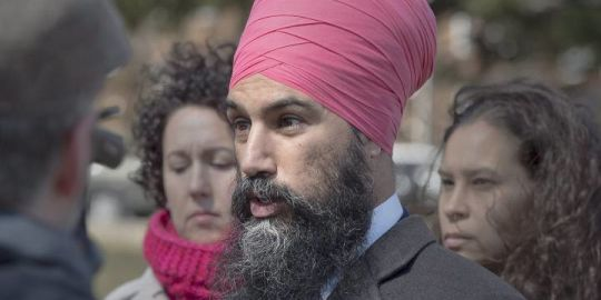 Jagmeet Singh harshly criticizes Liberals' silence on deadly protests amid U.S. embassy change